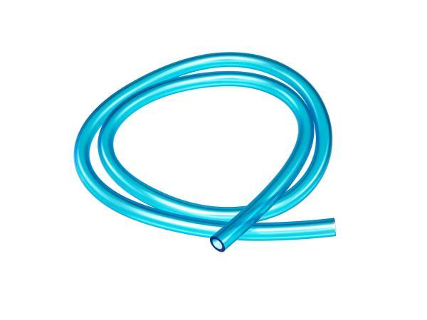 10065548 Benzinschlauch, Blau-transparent, 1 Meter, Ø 7x10,5mm - Bild 1