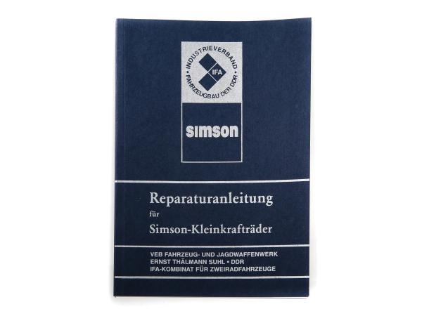 10002763 Buch - Reparaturanleitung Simson S50, Schwalbe KR51/1, Star, Sperber, Habicht, SR4 - Bild 1