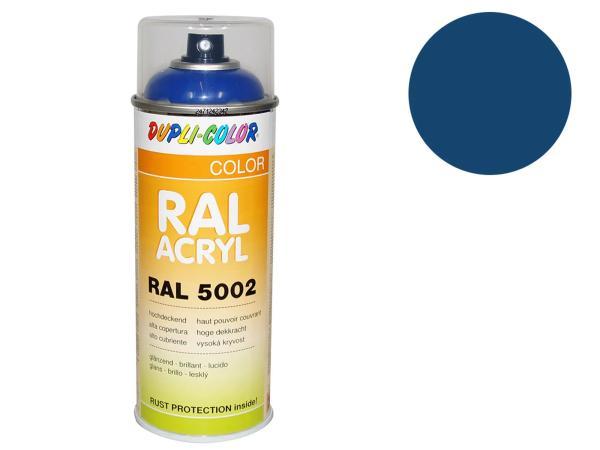 Dupli-Color Acryl-Spray RAL 5009 azurblau, glänzend - 400 ml