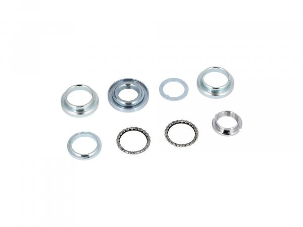 Steering bearing set 8 pieces - Simson KR51 Schwalbe, SR4-2 Star, SR4-3 Sperber, SR4-4 Habicht