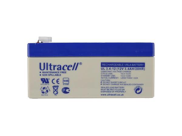 GP10000567 Batterie 12V 3,4Ah (Gelbatterie) - Bild 1