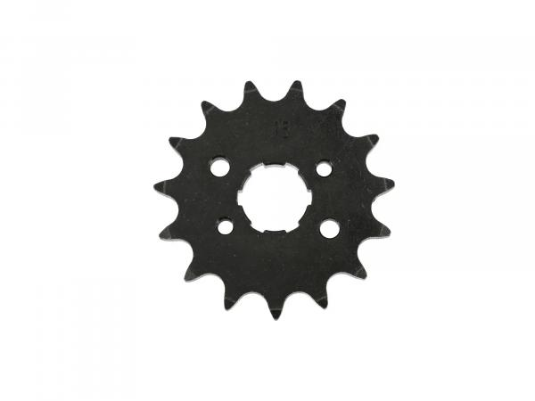 Sprocket (small drive sprocket), 15 tooth Simson Schikra 125