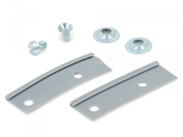 Set: Keder (grey), countersunk screw and washer for handlebar shell bird series