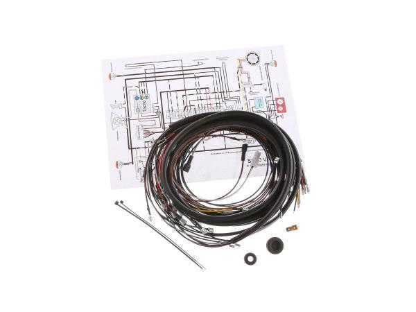 Kabelbaumset SR50, optimiert für 12V-Vape, mit Schaltplan