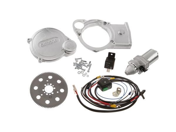 Set: Elektrostarter, Anlasser für PVL+ EMZA-Zündungen - Simson S51, S70, S53, S83