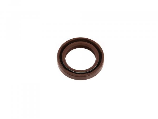 Oil seal 25x37x07, brown - MZ ES175, ES250, ES300 - BK350