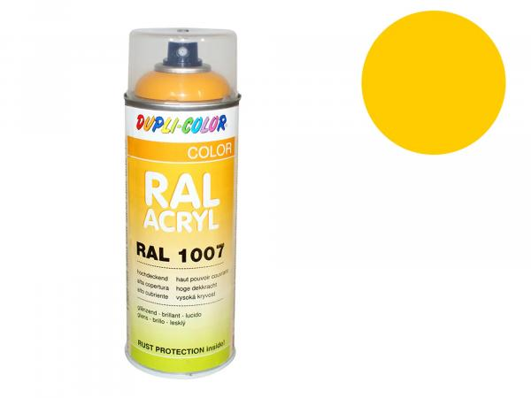 Dupli-Color Acryl-Spray RAL 1003 signalgelb, glänzend - 400 ml