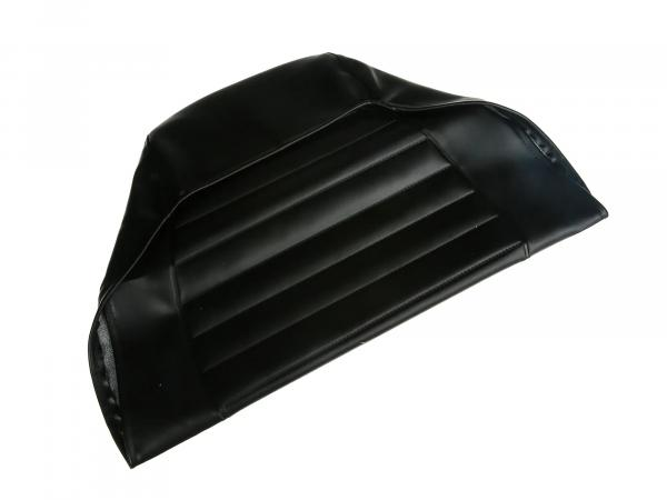 Seat cover structured, black without writing - MZ ETZ125, ETZ150, ETZ251, ETZ301