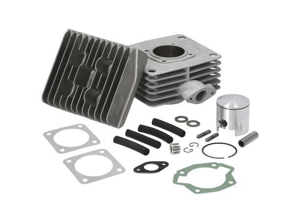 Set: RESO-LT90 - 2-Kanal-Tuningzylinder, 90ccm, Alu mit Beschichtung - Simson S51, S53, KR51/2 Schwalbe