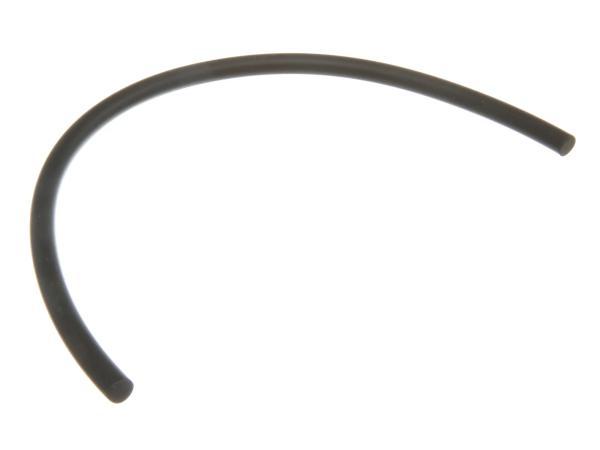 Gummischnur f. Haube  - schwarz - 285mm lang -  KR51