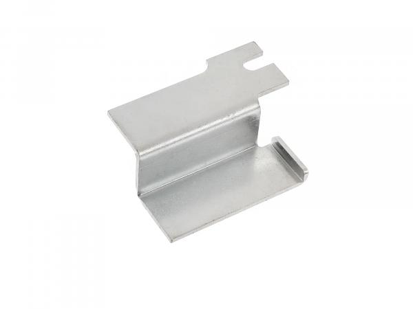 Battery hold-down, galvanized