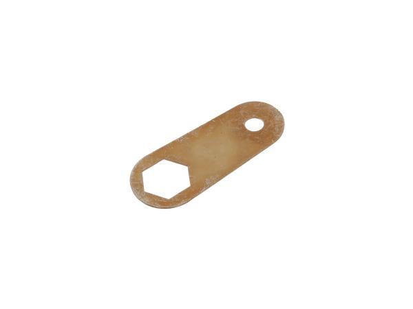 Locking plate for hood lock on sidecar - ETZ250, TS250