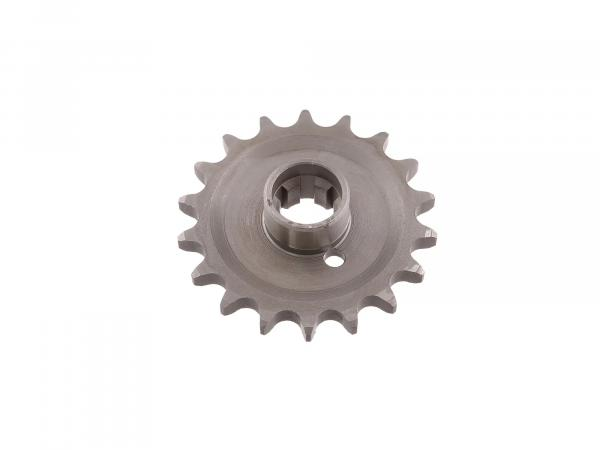 Sprocket on gearbox 18 teeth TS 250