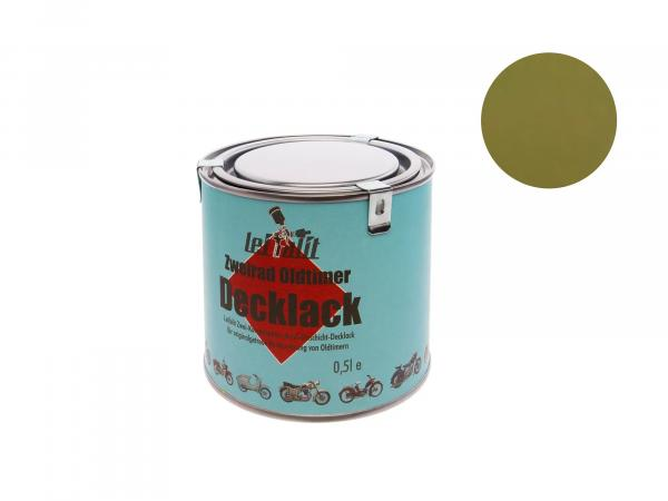 10016675 Lackfarbe 2K Leifalit Olivgrün, glänzend - 500ml - Bild 1