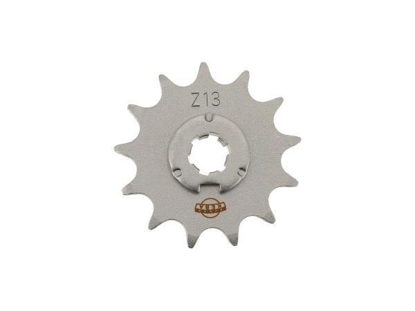 10063325 Ritzel, kleines Kettenrad, 13 Zahn - Simson S50, KR51/1 Schwalbe, SR4-2 Star, SR4-3 Sperber, SR4-4 Habicht - Bild 1