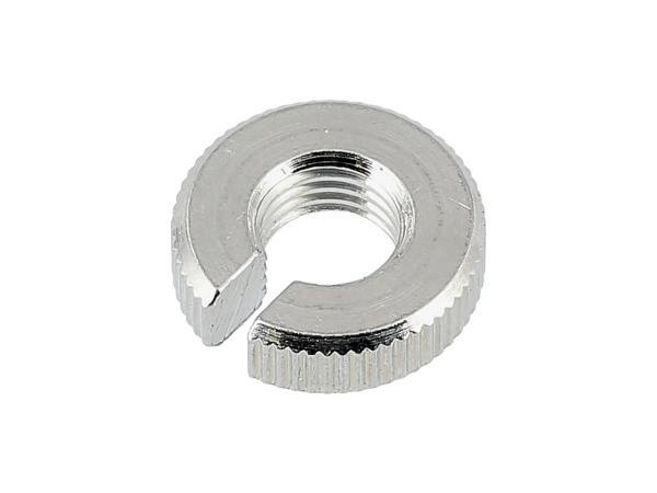 Knurled nut M 8 x 1 TGL 39-2856 for adjusting screw TS 125,150