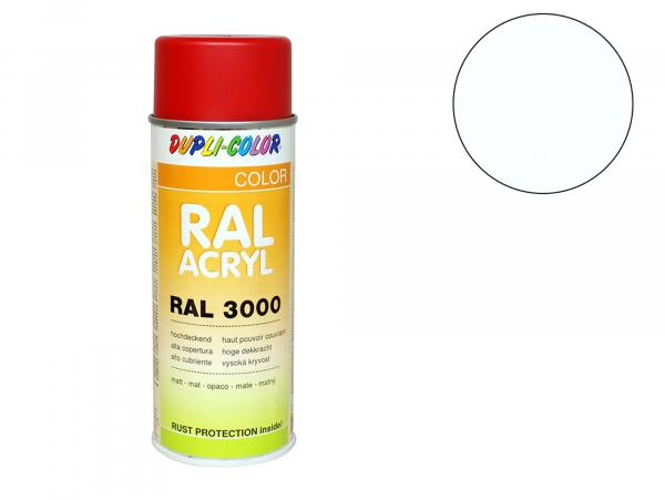 Dupli-Color Acryl-Spray RAL 9010 reinweiß, matt - 400 ml