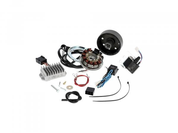 Alternator + ignition 12V 100W for ES, ETS, TS