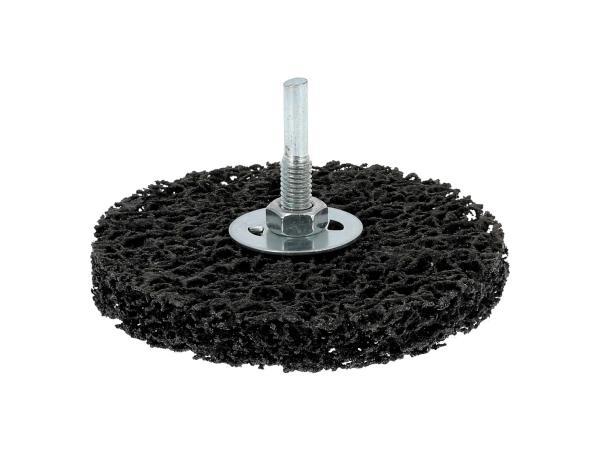10069841 Siliziumkarbid-Schleifscheibe schwarz, mit Aufnahmeschaft - Bild 1