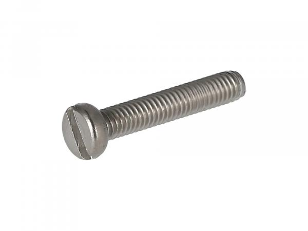 Slotted cheese head screw, stainless steel M4x22 - DIN84
