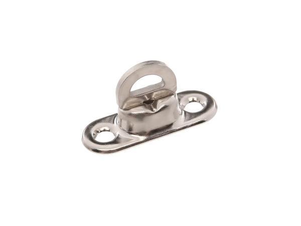 Drehwirbel (Drehverschluß) verzinkt, Grundplatte 1mm hoch, für Verdeck oder Knieschutzdecke - für Duo 4/1