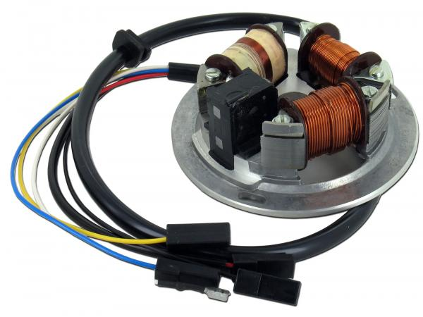 10001861 Grundplatte 8305.1/4-100, 6V Elektronik, 35/21W Bilux - Simson S51, S70 - Bild 1