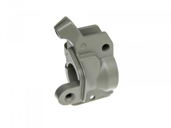 Clamping piece for throttle grip in grey for aluminium brake lever - Simson KR51/1 Schwalbe, KR51/2 Schwalbe, SR4-2 Star, SR4-3 Sperber, SR4-4 Habicht