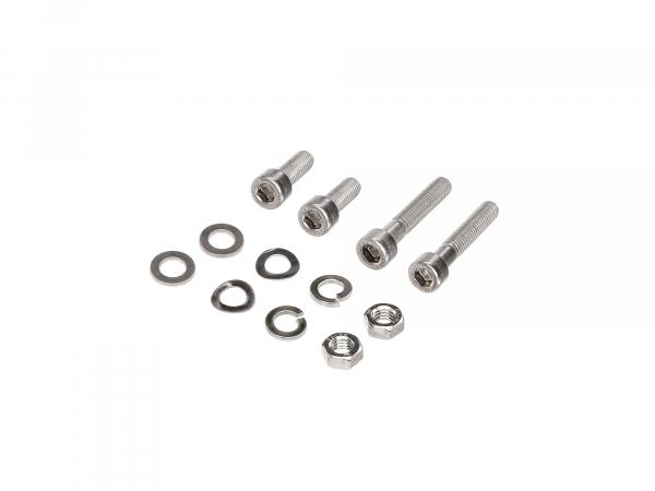 Set: Cylinder head screws, hexagon socket in stainless steel for indicator and rear lights S50, S51, S53, S70, S83