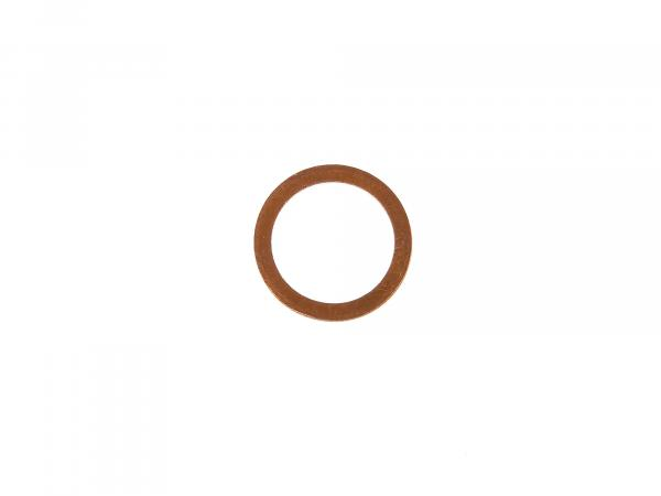 Sealing ring Ø 18x24 DIN 7603 made of copper, for oil drain plug - for Simson S50, KR51/1, SR4, Duo4/1, AWO - for MZ ETZ, TS