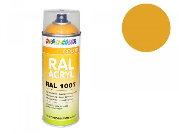 Dupli-Color Acryl-Spray RAL 1032 ginstergelb, glänzend - 400 ml