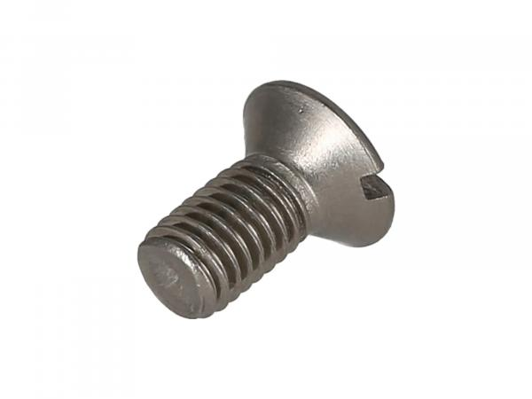 Slotted raised countersunk head screw, stainless steel M8x16 - DIN964