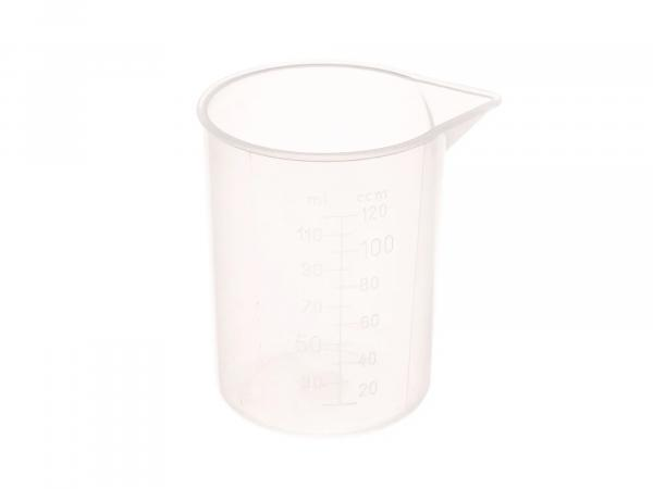Measuring cup with scale, transparent - 120ml