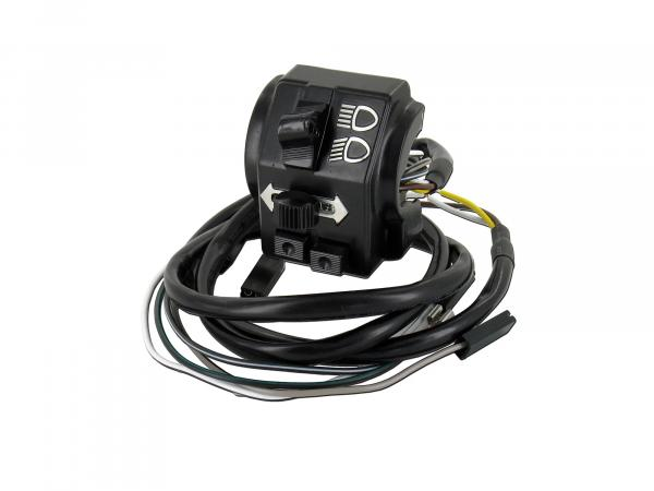 Switch combination with cable - for Simson S51, S70, S53, S83