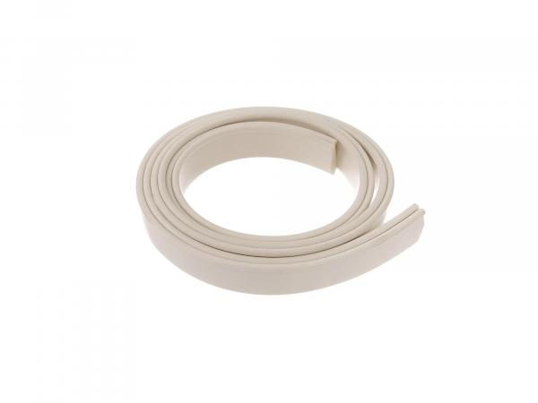 Rubber piping for rubbing strake 1 meter ivory KR51, KR51/1, KR51/2