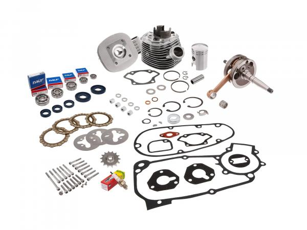 Set: all parts for regeneration: Motor complete - for Simson KR51/1 Schwalbe