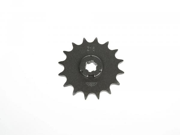 sprocket, small sprocket, 16 tooth - Simson S50, KR51/1 Schwalbe, SR4-2 Star, SR4-3 Sperber, SR4-4 Habicht