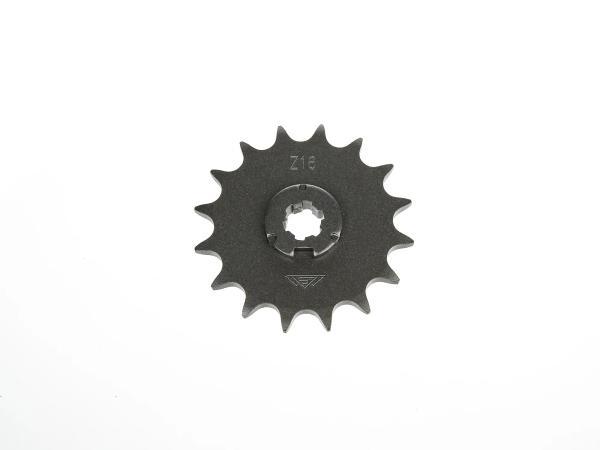 Ritzel, kleines Kettenrad, 16 Zahn - Simson S50, KR51/1 Schwalbe, SR4-2 Star, SR4-3 Sperber, SR4-4 Habicht