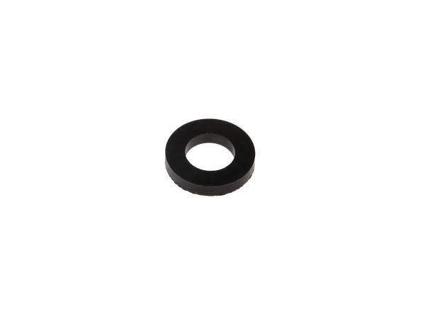 Rubber washer 22x12mm, height 3,8mm for engine mount, passenger footrests hood - for Simson KR51 Schwalbe, SR50, SR80