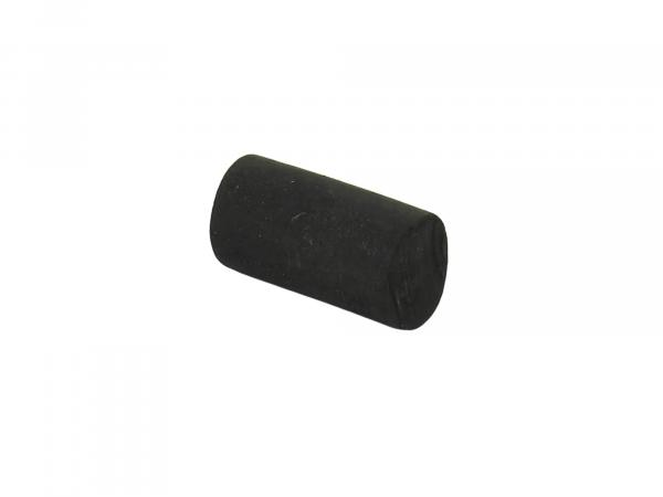 Rubber stopper black - ø 12 mm / L 20 mm Simson Schikra 125
