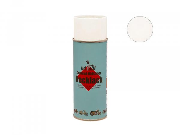Spray can Leifalit top coat Togaweiss - 400ml