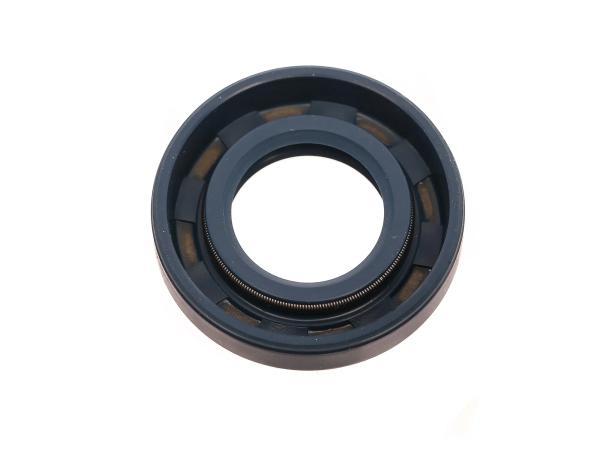 Oil seal 17x32x07, blue, dust lip