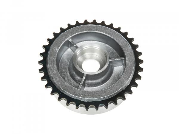 Chain wheel driver, 34 tooth without ball bearing - for Simson S50, S51, KR51 Schwalbe, SR4, Duo
