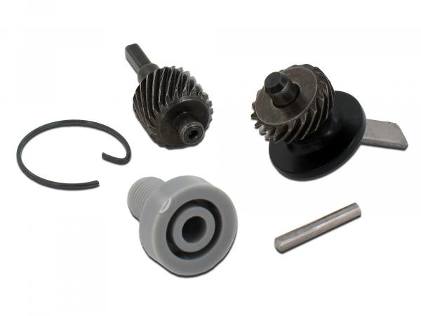 Set: Speedometer drive - 5-piece for chain pinion 16Z - Simson S50, KR51/1 Schwalbe, SR4-2 Star, SR4-3 Sperber, SR4-4 Habicht