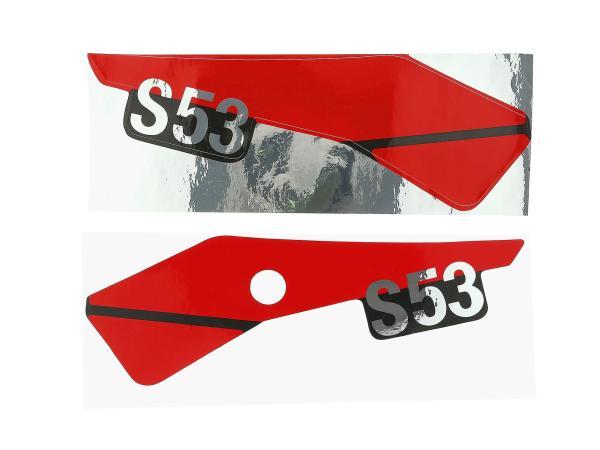 10013854 Klebefolie - für Seitendeckel, links, S53OR - Bild 1
