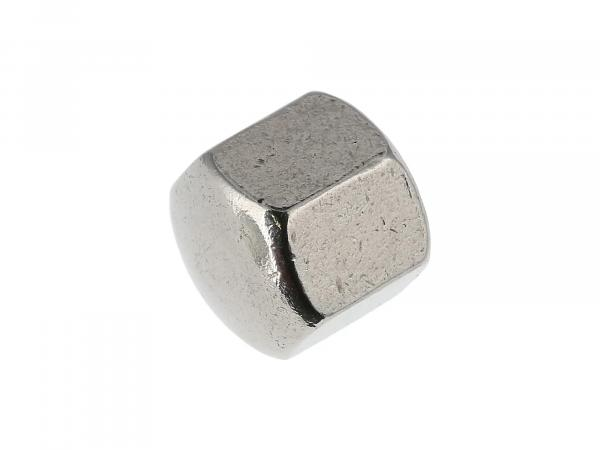 Hexagon cap nut M6 low form, in stainless steel - DIN917