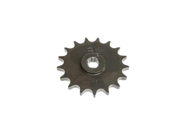 Ritzel, kleines Kettenrad, 17 Zahn - für Simson S50, KR51/1 Schwalbe, SR4-2 Star, SR4-3 Sperber, SR4-4 Habicht