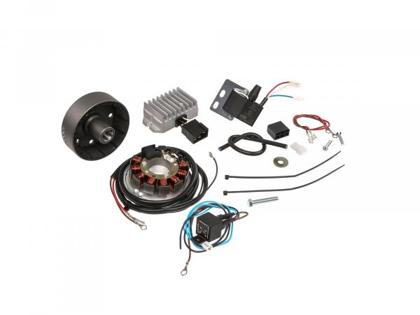 Magneto-light ignition system 6V 75W with integrated fully electronic ignition - MZ ES125, ES150, ETS125, ETS150, TS125, TS150