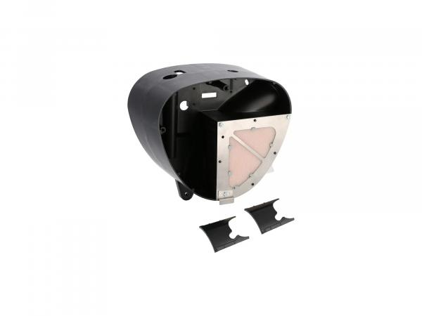 middle part of housing Pipercross, outlet Ø26mm, with sport air filter - for Simson S50, S51, S53, S70, S83