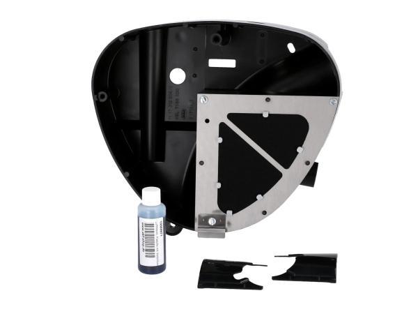 Gehäusemittelteil Pipercross, Auslass Ø26mm, mit Sportluftfilter - für Simson S50, S51, S53, S70, S83