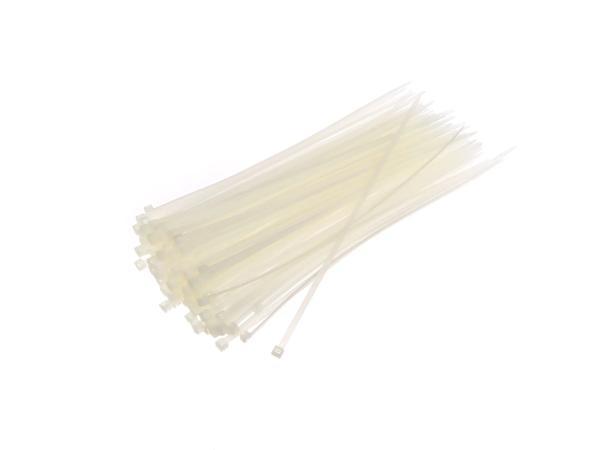 Kabelbinder 280mm x 4,8 farblos (Preis je Tüte mit 100 Stück)
